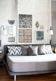 painting brick walls white an