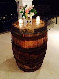 used wine barrel furniture. Wine Barrel Rustic Tables With Glass Top Used Furniture U