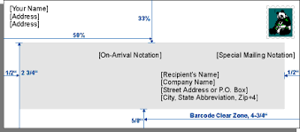 Business Letter Envelope Components Roadrunner Mailing Service
