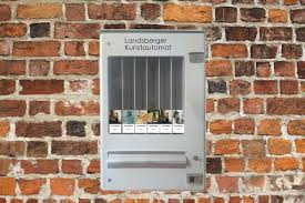 Cigarette Vending Machine Art Mesmerizing Germany Installes Art Vending Machines Artnet News