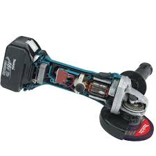 makita cordless grinder. makita 743052-5 18-volt lxt lithium-ion cordless 4-1/2-inch cut-off/angle grinder (tool only, no battery) (discontinued by manufacturer) - power angle 6