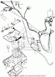 Wire harness ct70 trail 70 k0 1969 usa 32100098671 rh cmsnl