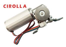 high power low noise sliding glass door motor brushless safety with automatic stop