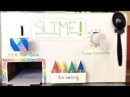 Slime Vending Machine Beauteous HOW TO MAKE A SLIME VENDING MACHINE THAT REQUIRES MONEY YouTube