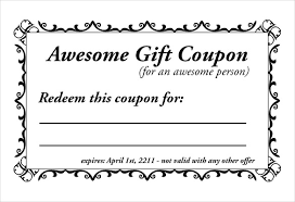 10 Off Coupon Template Homemade Coupon Templates 23 Free Pdf Format Download