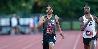 isaiah brandt sims curly leads the team in the 100 meter dash and will be expected to perform well at the invitational john p lozano isiphotos