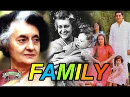 Feroze Gandhi Family Chart Indira Gandhi Family With Parents Husband Son Grandchildren And Cousin
