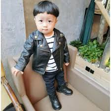 fashion baby boy leather jackets pu short coat for boys outerwear cloth infant baby jacket high quality spring newborn coats new jackets for kids boys