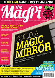 Build a <b>magic mirror</b> in issue 54 of The MagPi - Raspberry Pi