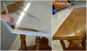 Whitewashing furniture with color Reclaimed Wood Before And After Basics Whitewash Designsponge Before And After Basics Whitewash Designsponge