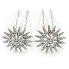 swarovski crystal hair accessories