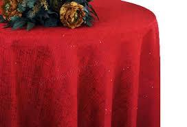 120 round paillette poly flax burlap tablecloths 10 colors