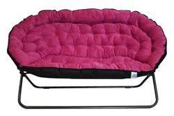 Papasan Dorm Sofa - Pink
