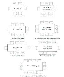 dining table for 12 measurements. full image for round dining table 8 size 12 measurements