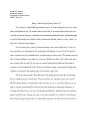 chopin s writing style in the story of an hour katie mccormick 3 pages poetry analysis