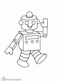 Kleurplaten Robot Kleurplaten Kleurplaatnl Tekenen