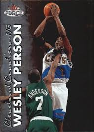 1999-00 Fleer Force Basketball #137 Wesley Person at Amazon's Sports  Collectibles Store