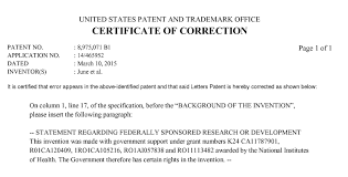 Certificate Of Correction Certificate Of