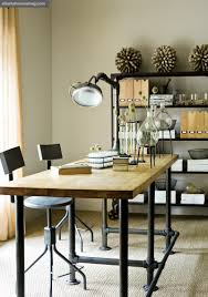 chic office design. Creative Industrial Chic Office Decor 4 Design