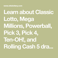 learn about clic lotto mega millions powerball pick 3 pick 4