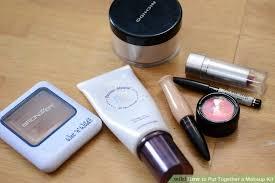 image led put together a makeup kit step 2