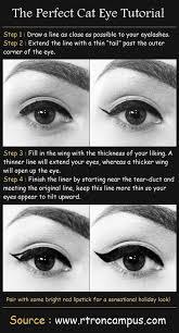 the perfect cat eye makeup tutorial
