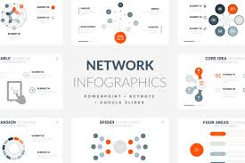 42 Ntetwork Infographic Template Powerpoint Keynote