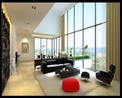 Small Living Room Decor Apartment Artistic Interior Ideas Design Using Black Leather Sofa