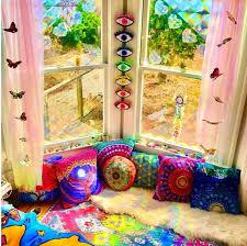psychedelic chakra eye wall decoration
