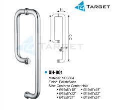 shower gl door handle dh 801