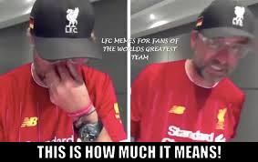 See more ideas about kpop memes, memes, meme faces. Jurgen Klopp Was In Tears Of Joy In His Lfc Memes For Fans Of The Worlds Greatest Team Facebook