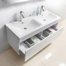 55 inch double vanity. Unique Vanity Virtu USA Zuri 55 Inch Double White Bathroom Vanity In Inch