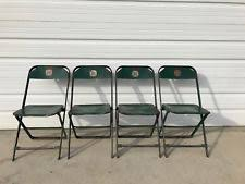 vintage metal folding chairs.  Chairs Folding Chairs Set Metal Vintage Antique DFW Waiting Room Theater Stadium  Seats Throughout T