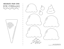 Free Craft Printables Templates Ice Cream Templates And Coloring Pages For An Ice Cream Party