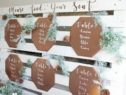 How To Make A Wedding Seating Chart Diy Wood Palette Wedding Seating Chart Fun365