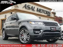 2016 land rover range rover sport 4wd 4dr supercharged available in east rutherford