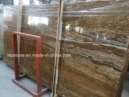 bookmatch golden travertine slab tiles for promotion