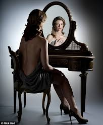 insecure person looking in mirror. mirror mirror: jane shilling contemplates her ageing reflection insecure person looking in l