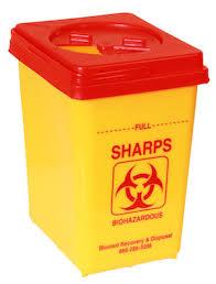 sharp disposal. yellow and red sharps container disposal bin sharp r