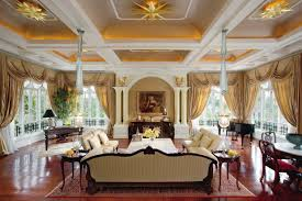 beautiful living room. Decors With False Ceiling Design Added Lighting Over Luxury Living Rooms Sets As Well Brown Wooden Floors And Beautiful Room Rugs Ideas