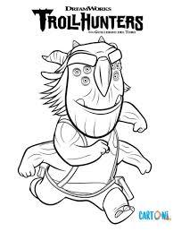 Stampa E Colora Blinky Di Trollhunters Cartoni Animati