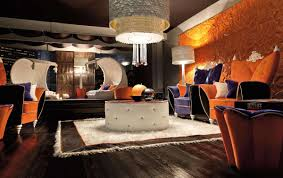 Orange And Brown Living Room Living Room Modern Unique Living Room Inground Design Ideas With