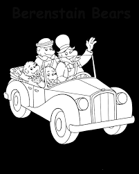Small Picture Berenstain Bears Art Coloring Pages PBS Kids