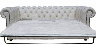 settee sofa bed. Fine Sofa Chesterfield3seaterwhite Sofabed Throughout Settee Sofa Bed R