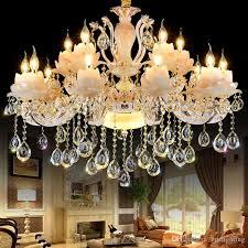 bedroom crystal lamp modern hotel villa hall led chandeliers brushed nickel chandelier oil rubbed bronze chandelier from britlighting 130 66 dhgate