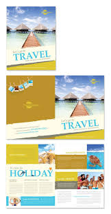 Examples Of Holiday Brochures Travel Agency Brochure Template Http