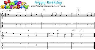 Looking for super easy guitar songs for beginner and kids? Happy Birthday Easy Guitar Tab