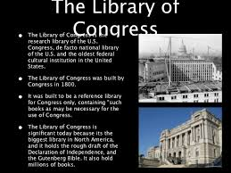 「he de facto national library of the United States and one of the largest in the world」の画像検索結果