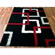 black and gray area rugs white grey red rug