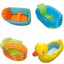 china inflatable duck bath tub baby tub